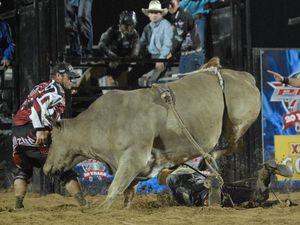 That's gotta hurt: the worst wrecks in bull riding