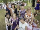 Kinder Garden Party, Tannum Sands 23.08.14 - The Ausum girls. Photo Mike Richards / The Observer