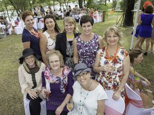 Ladies get together for a garden party at Tannum Sands