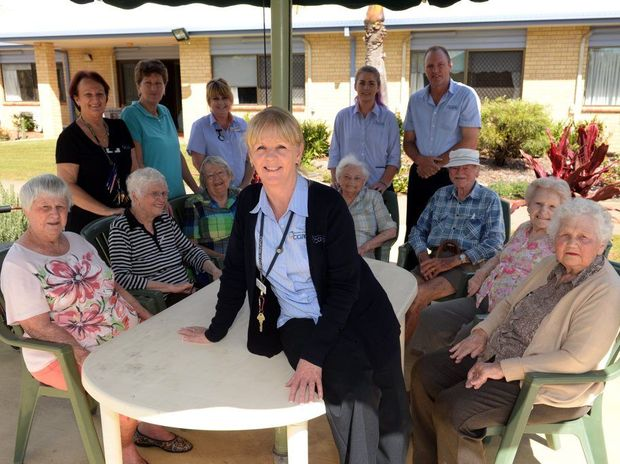 CRISIS OVER: Staff and residents of Gracehaven Aged Care Services breathe a sigh of relief to know that an outbreak of gastro has been contained. Photo: Max Fleet / NewsMail
