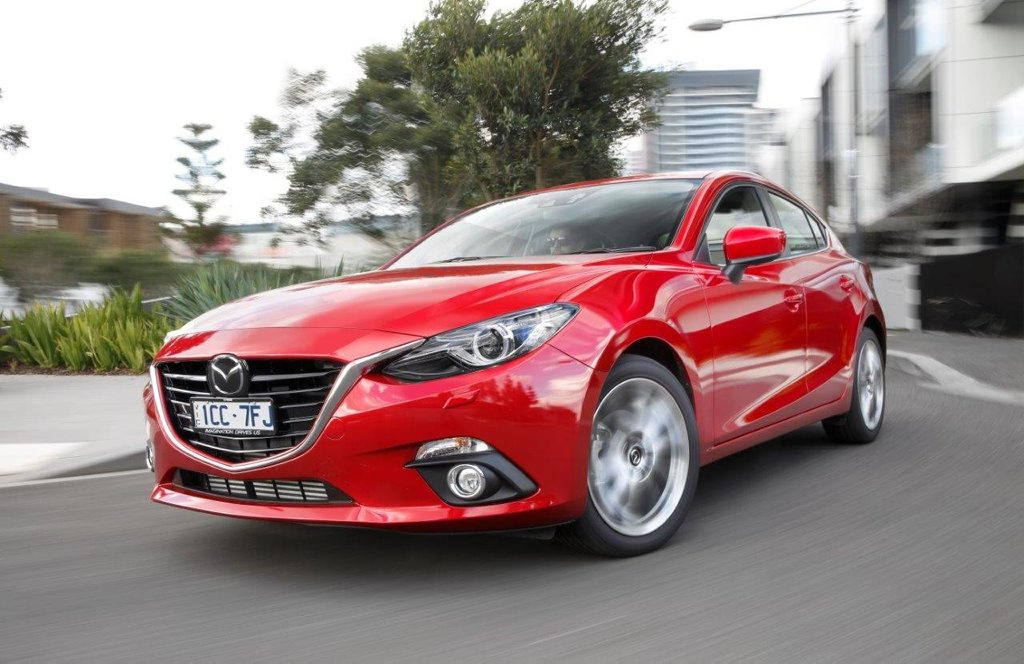 The new Mazda3 XD Astina, which is powered by a 2.2-litre diesel.