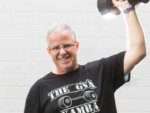 MAC ATTACK: Training and a better diet have helped Ian McDonald lose 25kg, and he is looking to lose 50kg in total. PHOTO: ADAM HOURIGAN