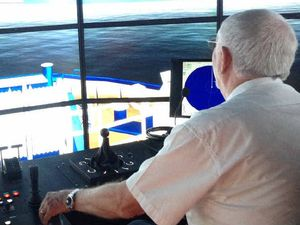 Trainer helps pilots sail troubled waters