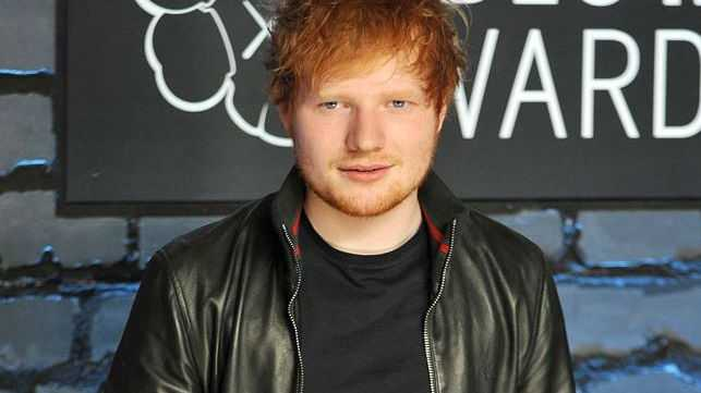 Ed Sheeran often goes to his local Tesco and buys a
