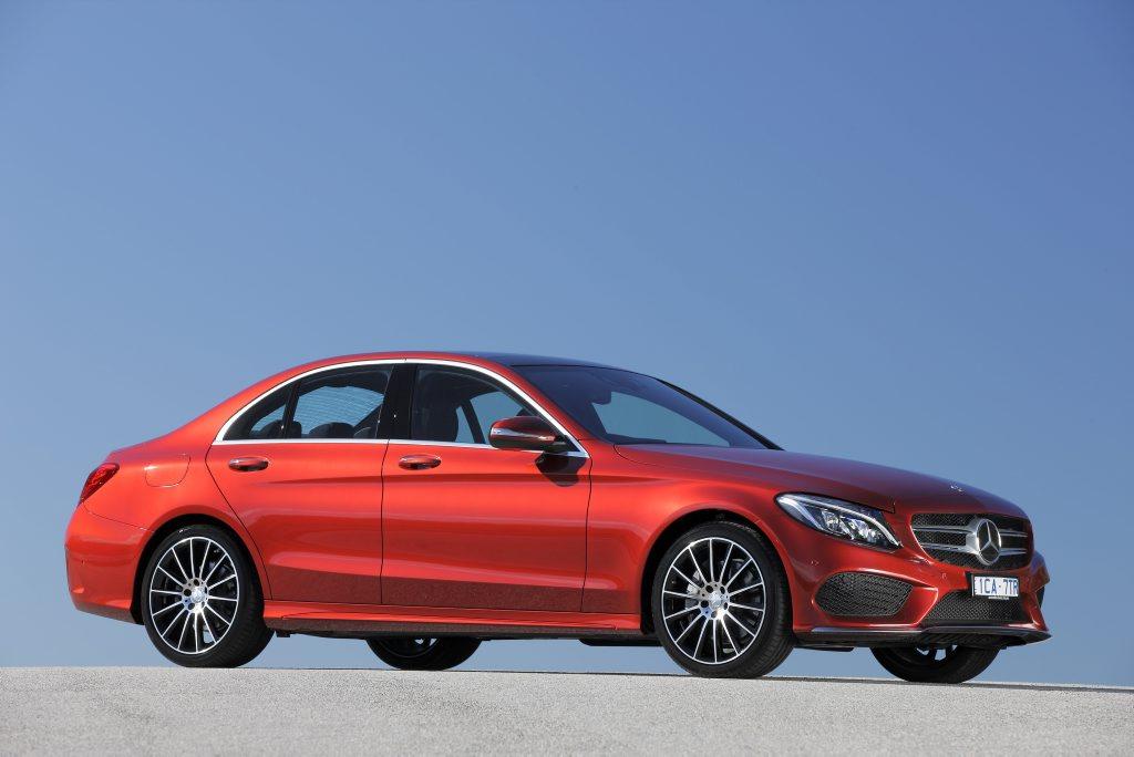 The new Mercedes-Benz C-Class.