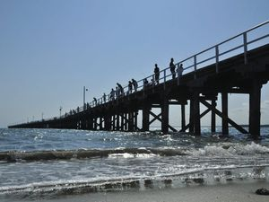 How would you celebrate the Urangan Pier's 100th birthday?