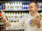 Super news as local milk flows to Coles stores
