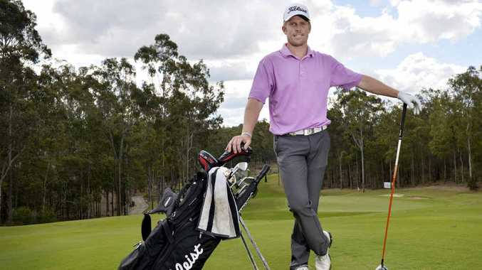 WINNING ATTITUDE: Gatton product Andrew Dodt is aiming to take out the Queensland Open at Brookwater Golf Club this week.