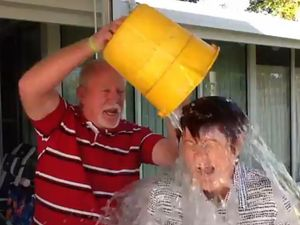 Mackay's Mayor does the ice bucket challenge