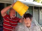 Mackay's Mayor, Deirdre Comerford, has taken part in the ALS Ice bucket challenge.