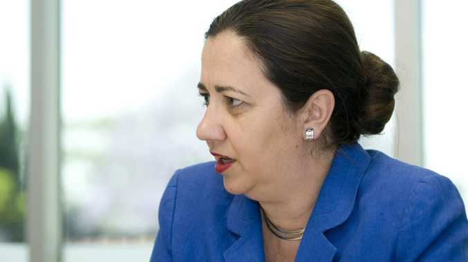 Opposition Leader Annastacia Palaszczuk announces former MP Kerry Shine will stand as the Australian Labor Party's candidate for Toowoomba North at the next state election, Monday, November 04, 2013. Photo Kevin Farmer / The Chronicle