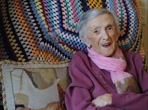 VIDEO: Watch 100 year old's reaction to Queen's letter