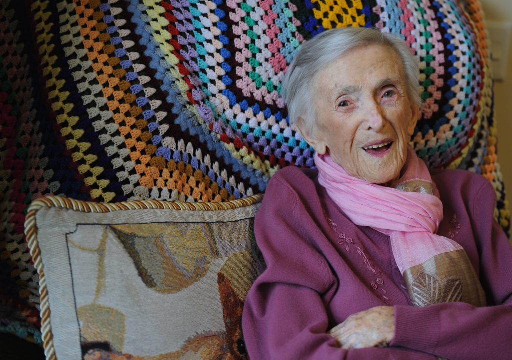 Maryborough's Catherine Wylie has plenty of wonderful memories to laugh about on her 100th birthday.