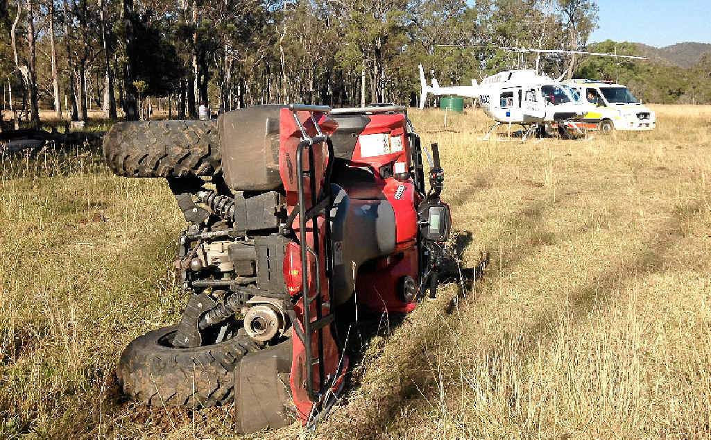 DISMISSING DANGER: Fatalities caused by the dangerous use of quad bikes remains above the long-term average, according to the Australian Centre for Agricultural Health and Safety.