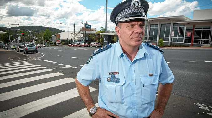 DANGEROUS MOVE: Inspector Peter Flanders is calling on drivers to think twice before performing an illegal U-turn.