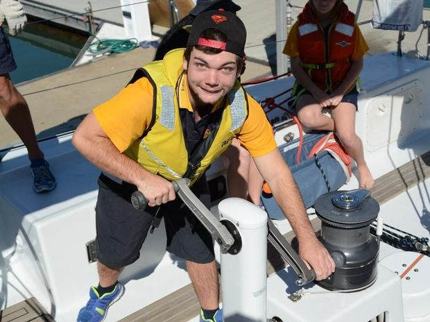 Ryan Shayler Rouvray gets to work aboard the yacht Kayle.