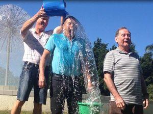 Mackay councillors take on the ice bucket challenge