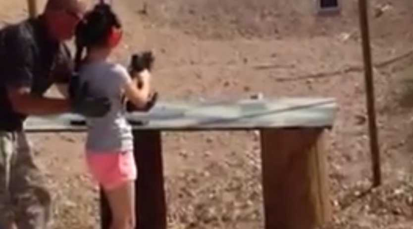 A nine-year-old accidentally shot and killed her instructor with a 9mm Uzi at a shooting range