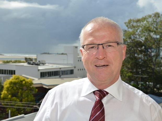 Sunshine Coast mayor Mark Jamieson