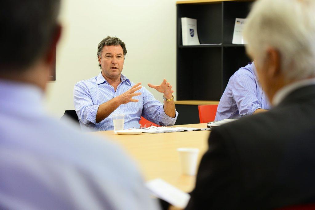 Minister for Education John-Paul Langbroek