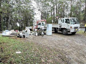 Illicit dump has Upper Orara residents fuming