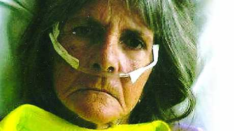 Jan Bradford, 62, was bitten by a taipan twice at her home in Boonooroo and survived to tell the tale.