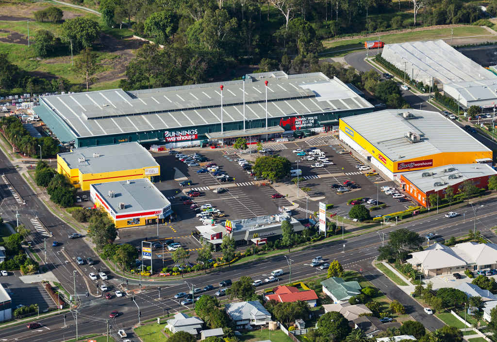 UP AND AWAY: Bunnings is off and Harvey Norman will be the new giant at Booval.
