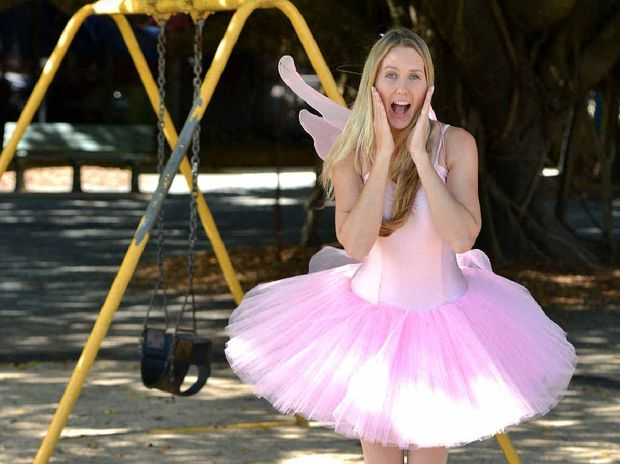 WISH GRANTING: Fairy Annabell, also known as Anna Malahoff, is a Mackay babysitter and says children should be about 14-years-old to be left at home by themselves.