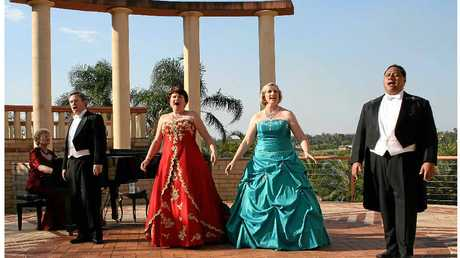 MUSIC: OPERATIF! will present Opera in the Amphitheatre at the Noosa Botanic Gardens.
