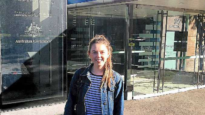STAGE SET: Allie Osborn attends a NIDA Young Actors Bootcamp at the Kensington Campus thanks to a bursary from Coolum Theatre Players.