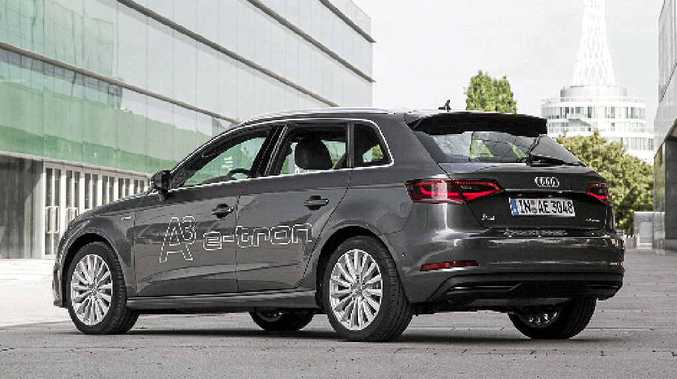 VERY CAPABLE: The Audi A3 Sportback e-tron.