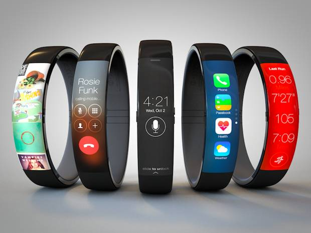 Apple iWatch concept renders. Tom Hamilton
