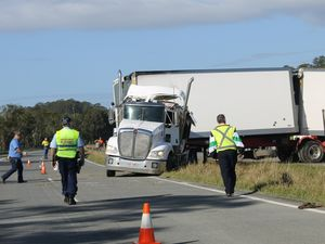 B-double rollover cleared and Pacific Mwy reopened
