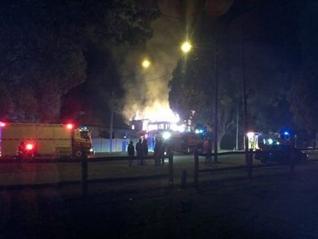 A fire has destroyed a Toowoomba home.