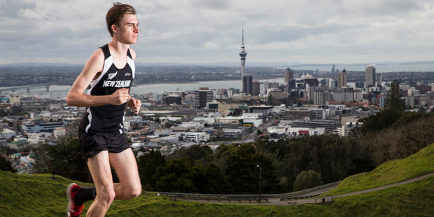 Conal Wilson's positive temperament and no-nonsense attitude are the reasons he's recovered so well, his coach says. Photo / Peter Meecham