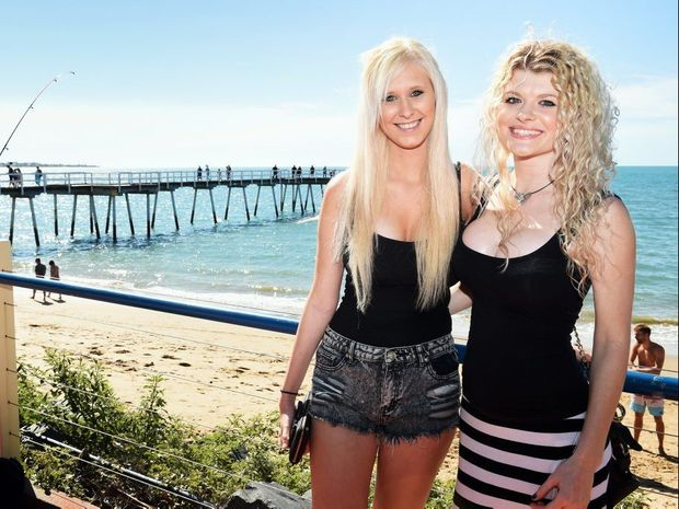 Natalie Alexander and Taylor Osmond at the reopening of the Beach House Hotel in Scarness.
