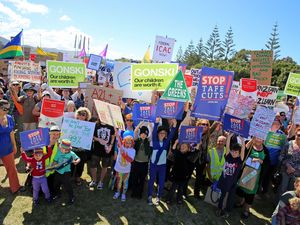 Coffs Harbour March Australia Rally attracts estimated 300