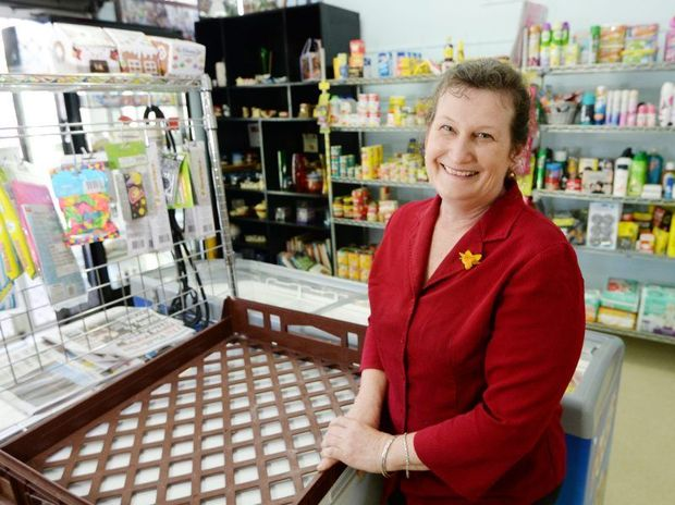 Lee McEvoy has owned the Elphinstone Street Take Away and Convenience store for 8 years. Photo: Chris Ison / The Morning Bulletin