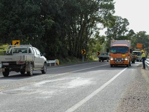 Potholes litter $2.7m Bangalow Road upgrade