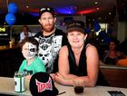 Hervey Bay Beach House Hotel opening, Scarness - Joshua and Damian Weston and Michelle Lidster.