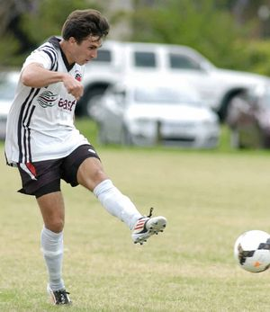 GOLDEN BOOT: Winner Jonathan See will be a key for Richmond Rovers in the local derby against Lismore Thistles tonight.