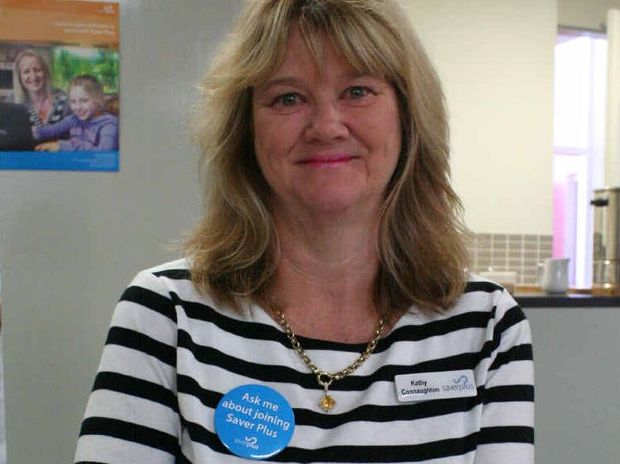 LEARN TO SAVE: The Smith Family Rockhampton's Saver Plus co-ordinator, Kathy Connaughton, says she's tried the program she promotes, which helps people save money each month.