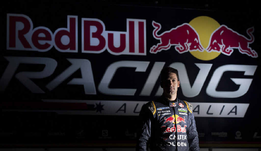 OUTSPOKEN: Four-time V8 Supercar champion and four-time Bathurst 1000 winner Jamie Whincup of Red Bull Racing Australia.
