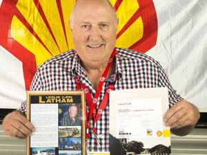 Les Latham's lifetime in trucks honoured