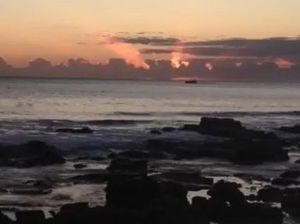 VIDEO: We have the first sunrise of Spring for you