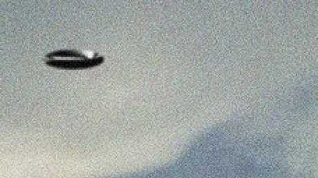 A UFO reportedly spotted over Wooloowin on May 23. Photo: Brisbane UFO Sightings