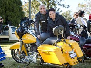 Charity bike ride cruises past region