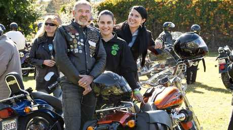 Hear the roar of 100 Harleys at the Toowoomba Cruise for Cancer ride.