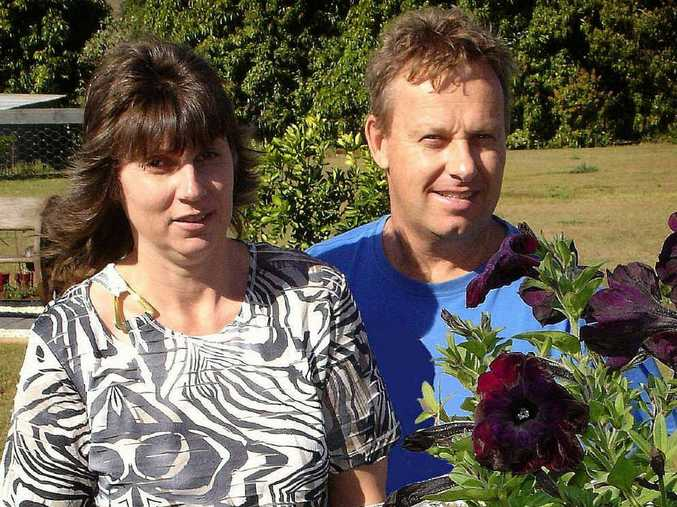 ABOVE AND AT LEFT: Last year's Champion Garden belonged to Maree and Paul Parkinson from Tullera.