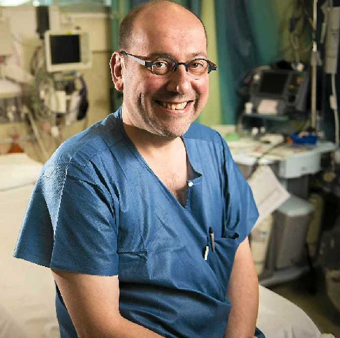 HAPPY TO BE HERE: Dr Stefaan De Clercq, Gladstone Hospital's new general surgeon, has recently arrived from Belgium.